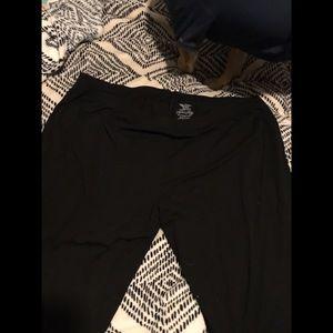 Faded glory black leggings